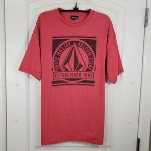 Volcom Red Logo Tee, L